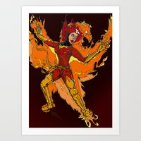 X-Men: Phoenix [Jean Gray] Art Print
