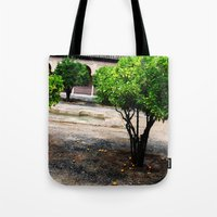 Courtyard Tote Bag