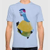 Susan Mens Fitted Tee Athletic Blue SMALL