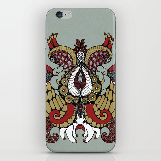 pouple pulpeux iPhone & iPod Skin