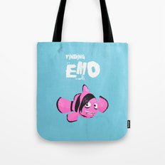 Coupling up (accouplés) Finding Emo Tote Bag