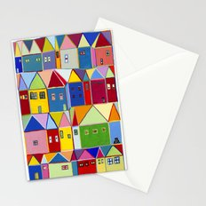 Lordy Dordie Houses Stationery Cards
