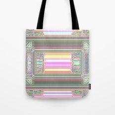 Moderne Glitch Tote Bag
