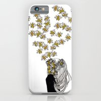 iPhone Cases featuring The Arrival of the Bee Box by Aya Rosen