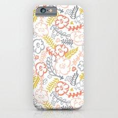 Floral Brush iPhone 6 Slim Case