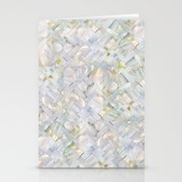woven seashells Stationery Cards