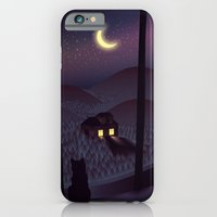 iPhone & iPod Case featuring Silent Watcher by Martynas Pavilonis