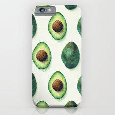 Avocado Pattern Slim Case iPhone 6s