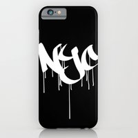 iPhone & iPod Case featuring NYC by Visionary Soul Designs