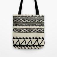 MALOU ZEBRA Tote Bag