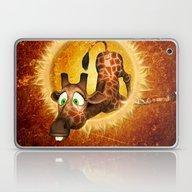 Cute Giraffe Laptop & iPad Skin