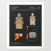 ROBOT (1955) Art Print