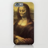 iPhone & iPod Case featuring Monnalisa is dead by Johnny Cobalto