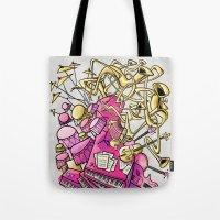 Musical Playground Tote Bag