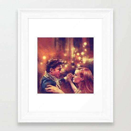 The Waltz Framed Art Print