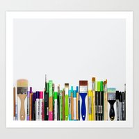 Real Weapons Of Mass Cre… Art Print