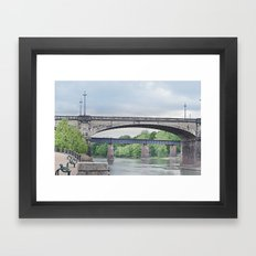 Dillingham Street Bridge Framed Art Print