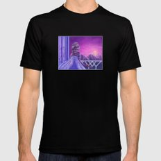Here I Stand In The Light Of Day Mens Fitted Tee Black SMALL