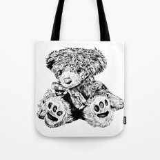 Teddy Tote Bag