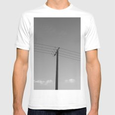 One for four SMALL Mens Fitted Tee White