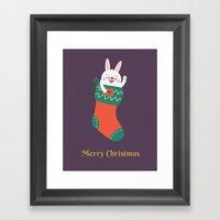 Day 15/25 Advent - Merry… Framed Art Print