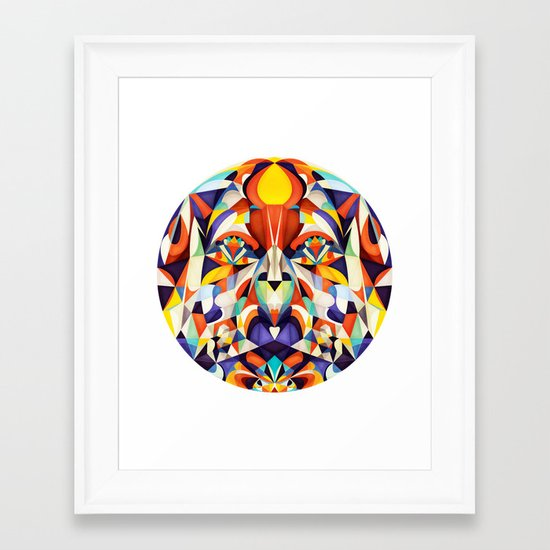 Something To Look At Framed Art Print