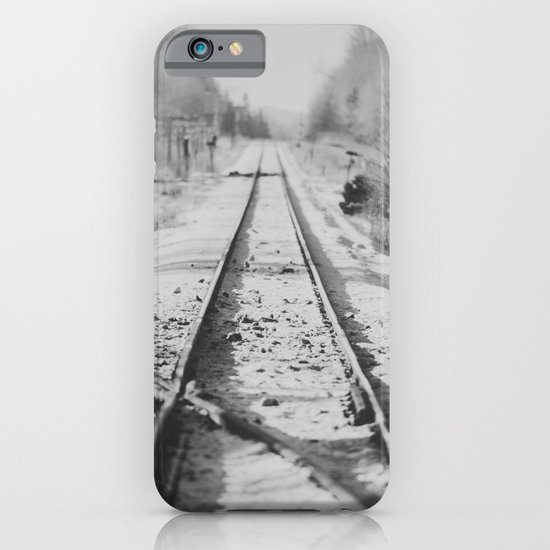 Tracks in Snow iPhone & iPod Case