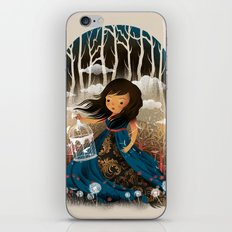 There Once Was A Girl In A Whimsical Land iPhone & iPod Skin