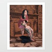 Elementary - That Kinky … Art Print