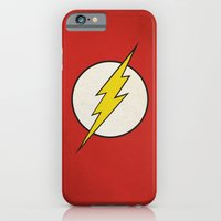 iPhone Cases featuring Flash Minimalist  by Scott - GameRiot