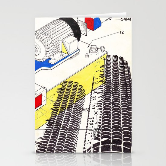 Marina City Stationery Card