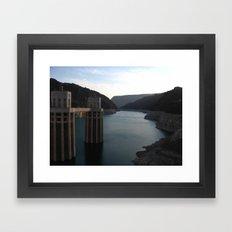Hoover Dam II Framed Art Print