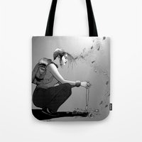 B&W No.9 Tote Bag
