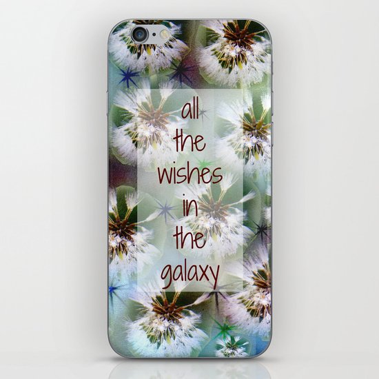 COLLAGE LOVE: All the Wishes in the Galaxy iPhone & iPod Skin
