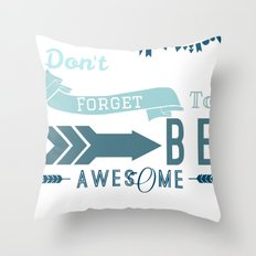 DFTBA II Throw Pillow