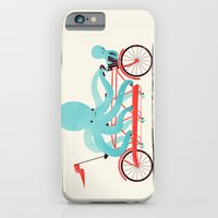 bike iPhone & iPod Cases featuring My Red Bike by Jay Fleck