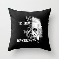 Live For Today Throw Pillow