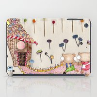 Hansel & Gretel - A House Made of Bread and Cake iPad Case