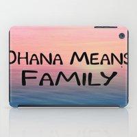 Ohana iPad Case