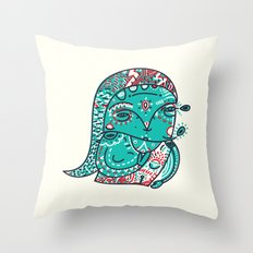 Never I have ever Ice Skate Throw Pillow