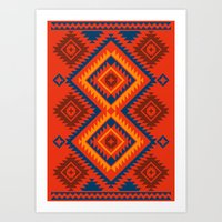 Navajo Eight Art Print