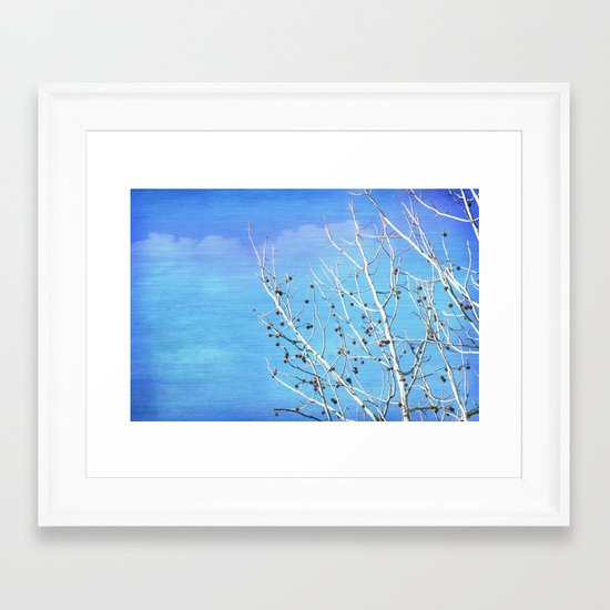 Thoughts in the Breeze Framed Art Print