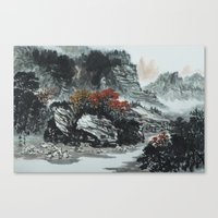 The spring of Absolute Valley Canvas Print