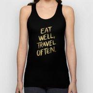 Eat Well Travel Often On… Unisex Tank Top