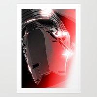 Dark Side (Kylo Ren) Art Print
