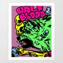 Wolf Blood Redux Art Print