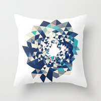 Datadoodle Burst Throw Pillow