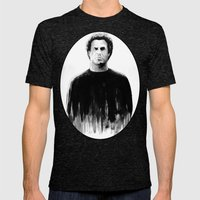 DARK COMEDIANS: Will Fer… Mens Fitted Tee Tri-Black SMALL