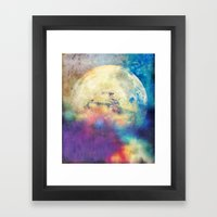 The MOON 3 Framed Art Print
