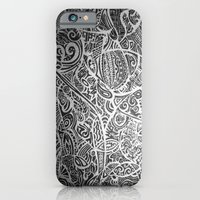 iPhone & iPod Case featuring Silver Vivid  by ElifsArt